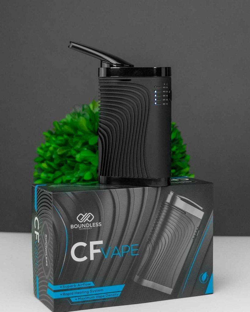 The CF sitting on it's packaging.