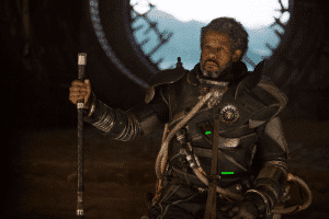 Saw Gerrera with breathing mask or maybe a full body vaporizer.