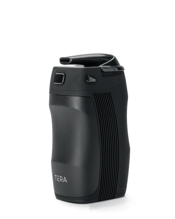 Tera Vaporizer Angled to the Left with a White Background